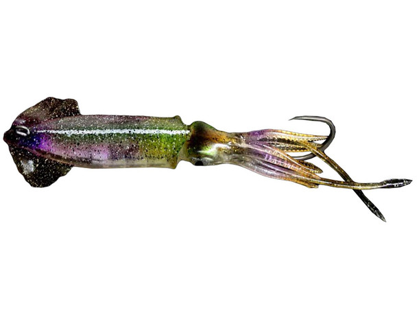 Savage Gear 3D Savage Salt Swim Squid Horny Green Eye