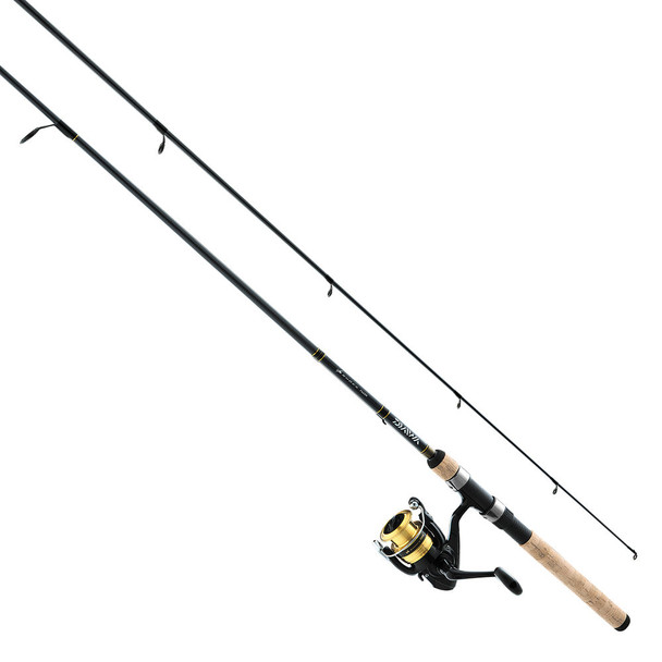 "Daiwa, D-Shock Freshwater Spinning Combo, DSK25-2BF662ML, 6'6"" Length, 2 Piece, Medium Power"