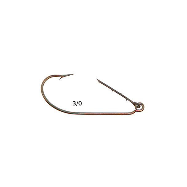Mister Twister® ™ KKH5-3/0 Kahale Keeper™ Worm Hooks 5pk