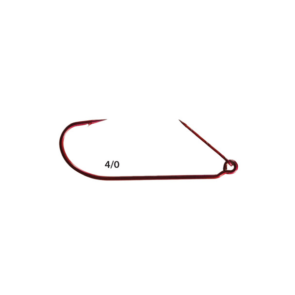 Mister Twister® ™ RKH7-4/0 Red Keeper™ Worm Hooks 5pk