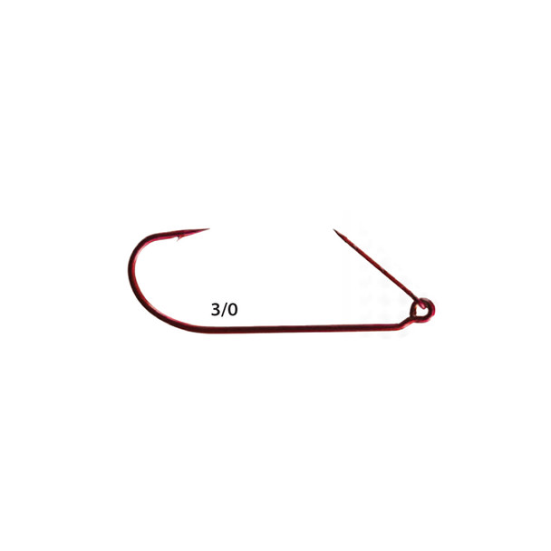Mister Twister® ™ RKH7-3/0 Red Keeper™ Worm Hooks 5pk