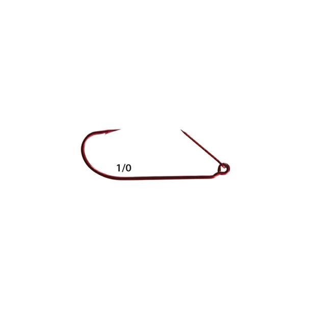 Mister Twister® ™ RKH7-1/0 Red Keeper™ Worm Hooks 5pk
