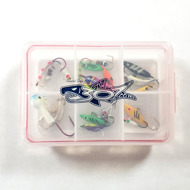 FISH307 Ice Jig Assortment w/ box