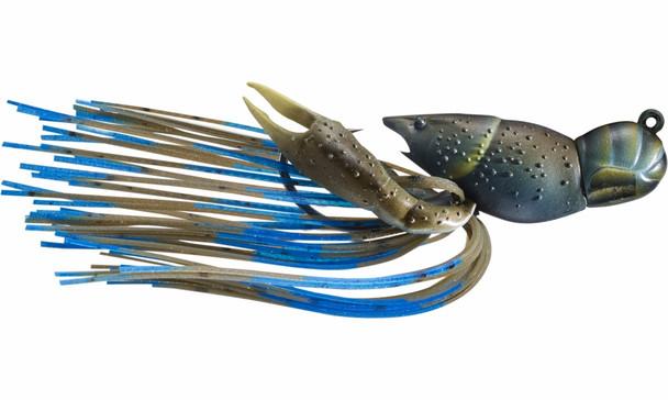 """Live Target Hollow Body Crawfish 1-1/2""""  Mud Blue"""