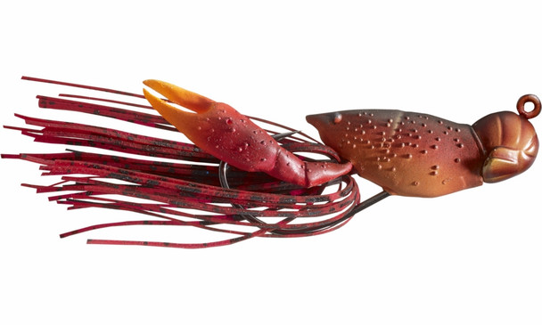 "Live Target Hollow Body Crawfish 1-1/2""  Red"