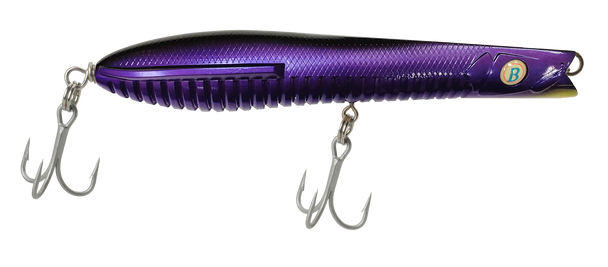 A Band of Anglers OCEAN BORN™ Flying Darter 180mm / 7'' Black Violet