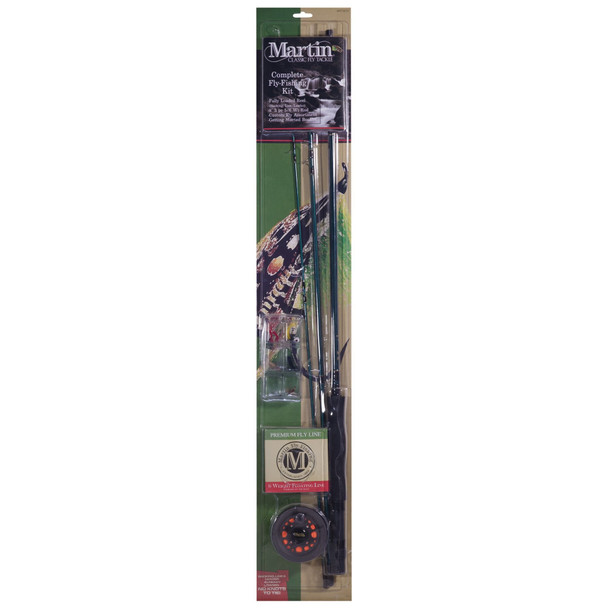 Martin® Complete Combo With Fly Assortment (MRT56TK)