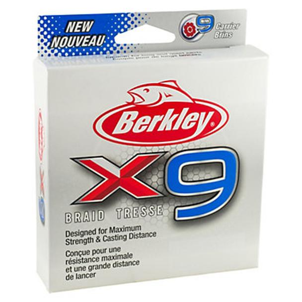 Berkley® x9 Braid 150m Crystal