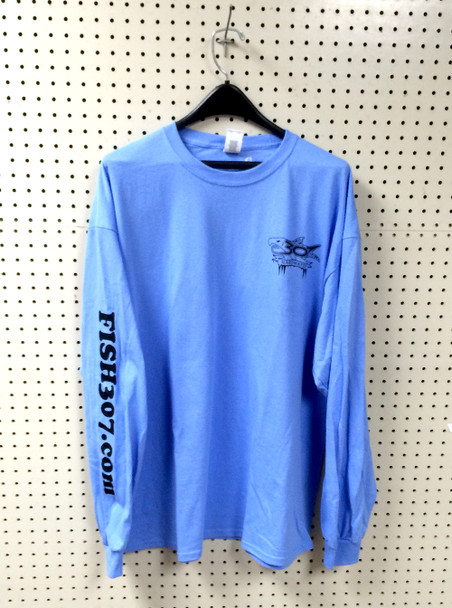 FISH307 long sleeve 2019-2020 Ice Fishing T-Shirt