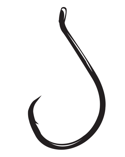 Gamakatsu Octopus Hooks, Circle (Offset-Point)