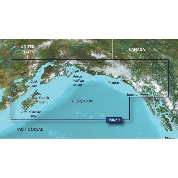 Garmin BlueChart g3 Vision HD - VUS025R - Anchorage - Juneau - microSD/SD