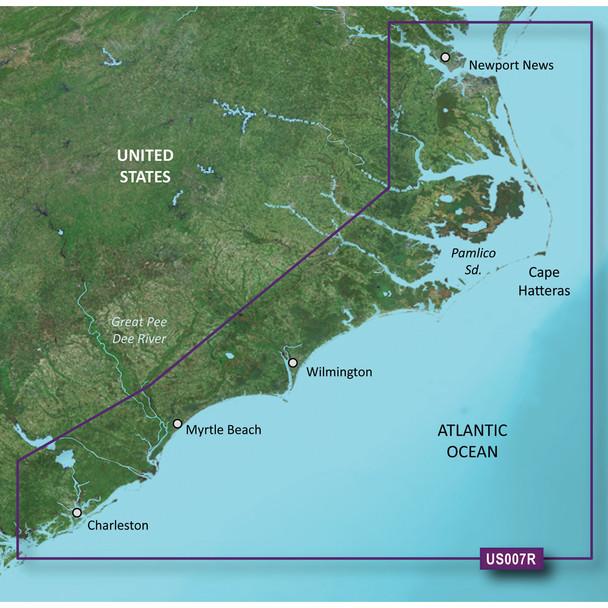 Garmin BlueChart g3 Vision HD - VUS007R - Norfolk - Charleston - microSD/SD
