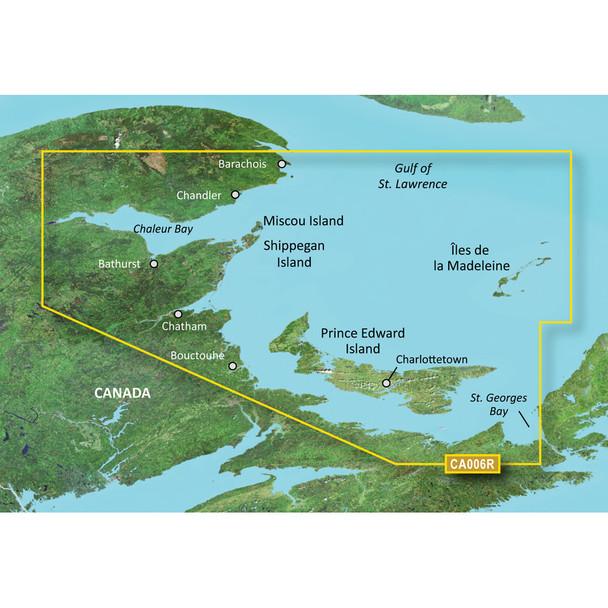 Garmin BlueChart g3 Vision HD - VCA006R - P.E.I. to Chaleur Bay - SD Card