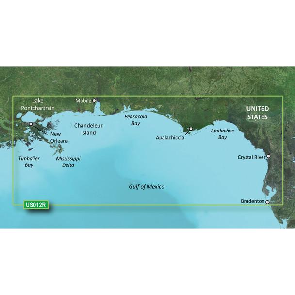 Garmin BlueChart g3 Vision HD - VUS012R - Tampa - New Orleans - microSD/SD