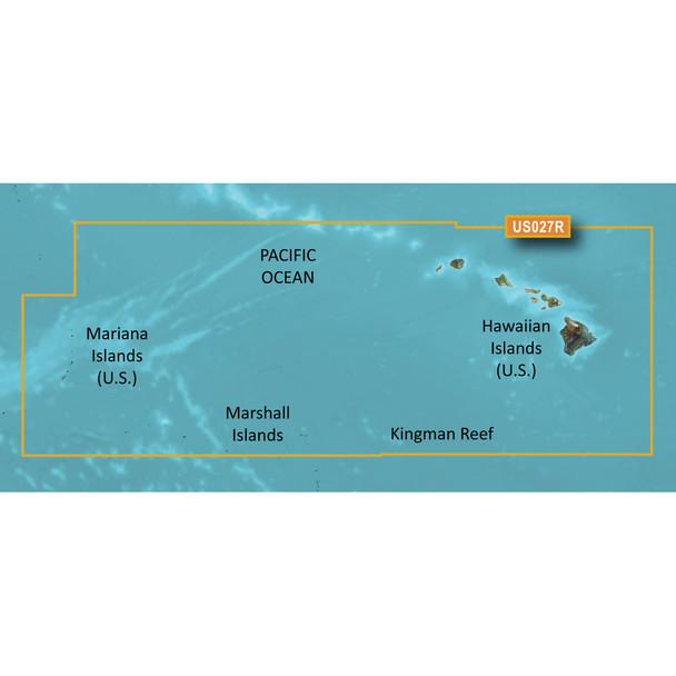 Garmin BlueChart g3 Vision HD - VUS027R - Hawaiian Islands - Mariana Islands - microSD/SD