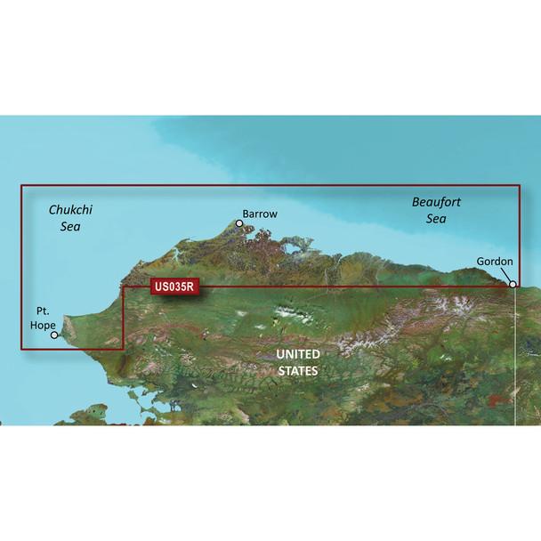 Garmin BlueChart g3 Vision HD - VUS035R - North Slope Alaska - microSD/SD