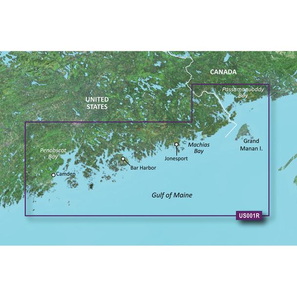 Garmin BlueChart g3 Vision HD - VUS001R - North Maine - microSD/SD