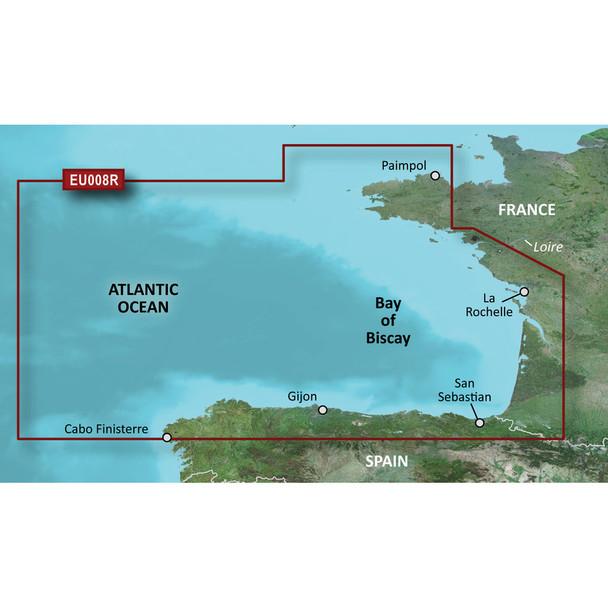 Garmin BlueChart g3 Vision HD - VEU008R - Bay of Biscay - microSD/SD