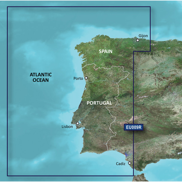 Garmin BlueChart g3 Vision HD - VEU009R - Portugal /SD