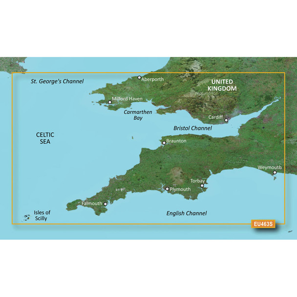 Garmin BlueChart g3 Vision HD - VEU463S - Bristol Channel /SD