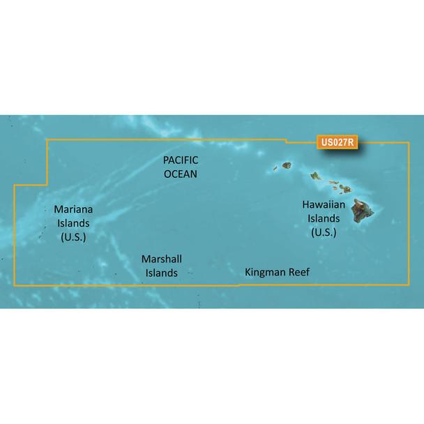 Garmin BlueChart g3 HD - HXUS027R - Hawaiian Islands - Mariana Islands - microSD/SD