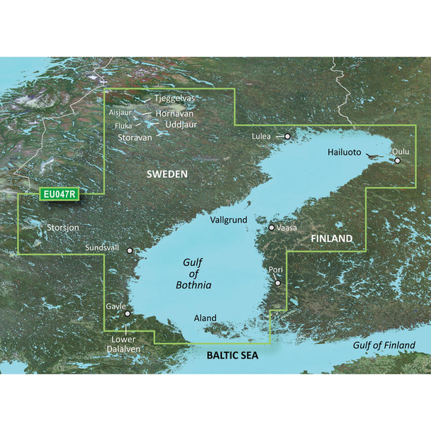 Garmin BlueChart g3 HD - HXEU047R - Gulf of Bothnia - Kalix to Grisslehamn - microSD/SD