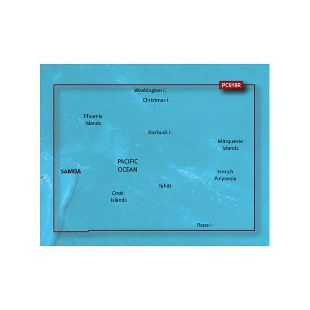 Garmin BlueChart g2 HD - HXPC019R - Polynesia - microSD/SD