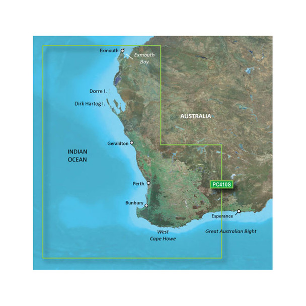 Garmin BlueChart g2 HD - HXPC410S - Esperance To Exmouth Bay - microSD/SD