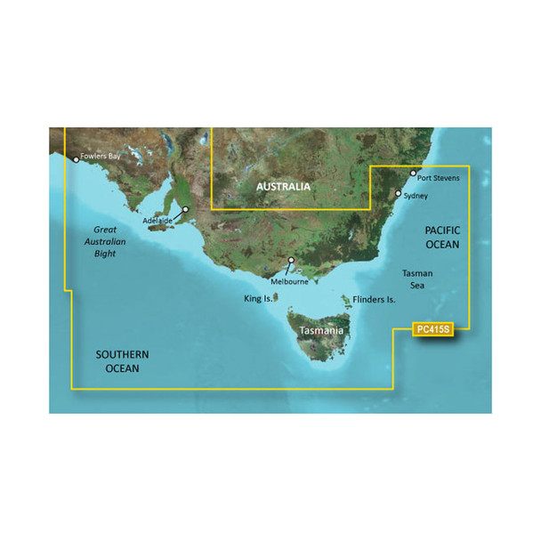 Garmin BlueChart g2 HD - HXPC415S - Port Stephens - Fowlers Bay - microSD/SD