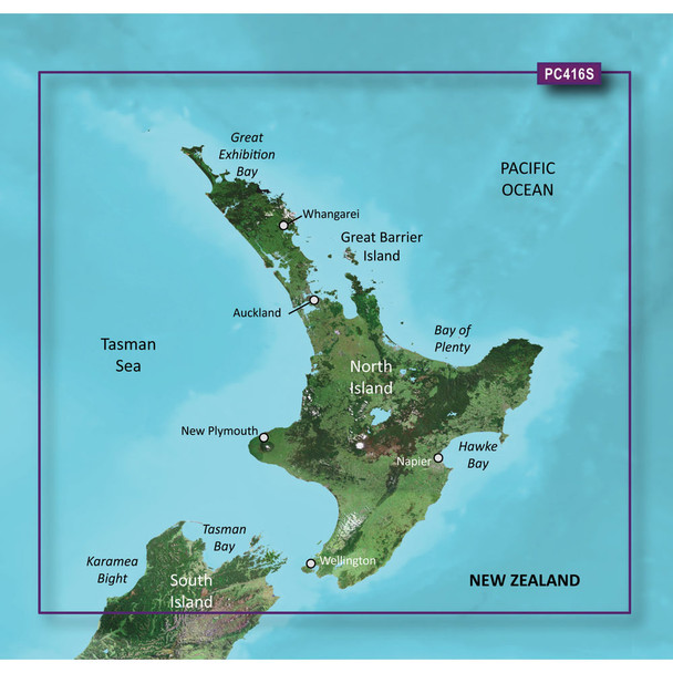Garmin BlueChart g2 HD - HXPC416S - New Zealand North - microSD/SD