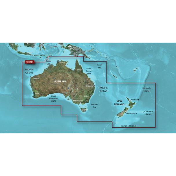 Garmin BlueChart g2 HD - HXPC024R - Australia /SD