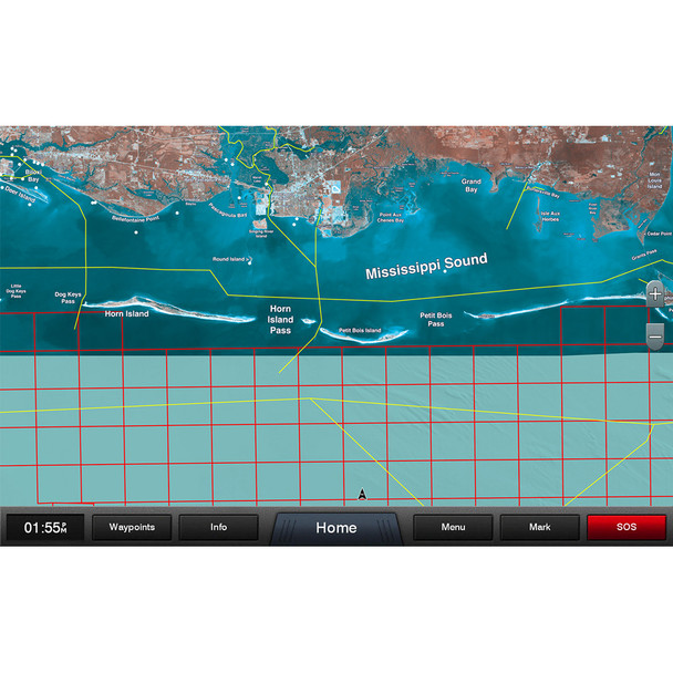 Garmin Standard Mapping - Mississippi Sound Professional microSD/SD Card