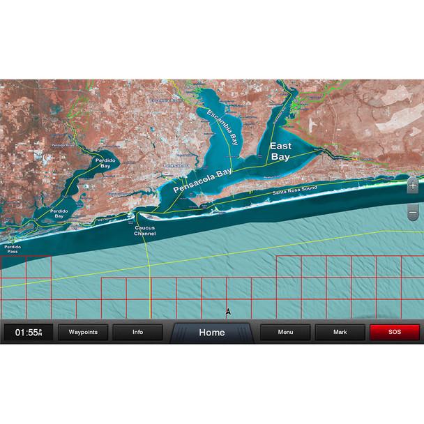 Garmin Standard Mapping - Emerald Coast Premium microSD/SD Card