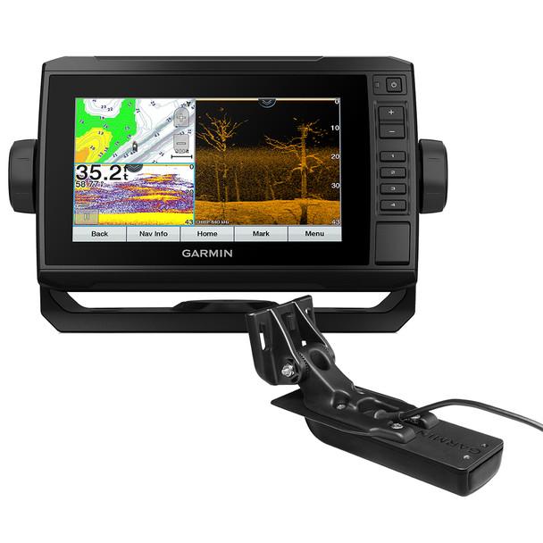 Garmin ECHOMAP UHD 73cv US LakeVü g3 w/GT24UHD-TM Transducer