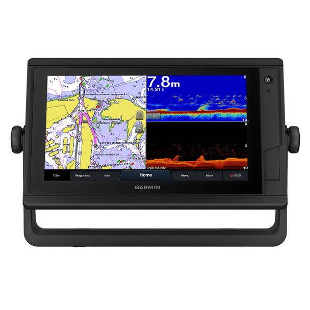 Garmin GPSMAP 922xs Plus ClearVü & Traditional CHIRP Sonar w/Worldwide Basemap