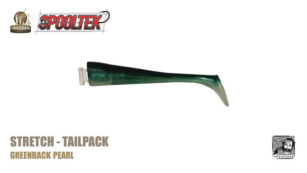 A Band of Anglers SPOOLTEK™ STRETCH™  Greenback Pearl Tailpack