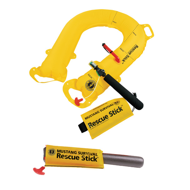Mustang Rescue Stick - Throwable Emergency Rescue Inflatable