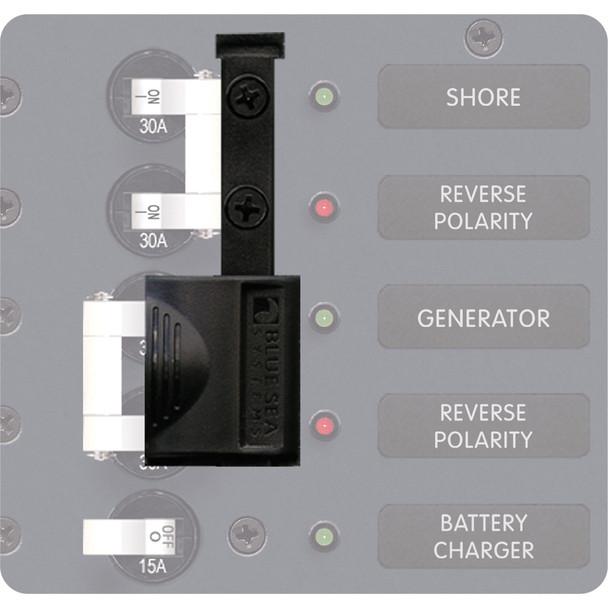 Blue Sea 4125 AC A-Series Circuit Breaker Lockout Slide