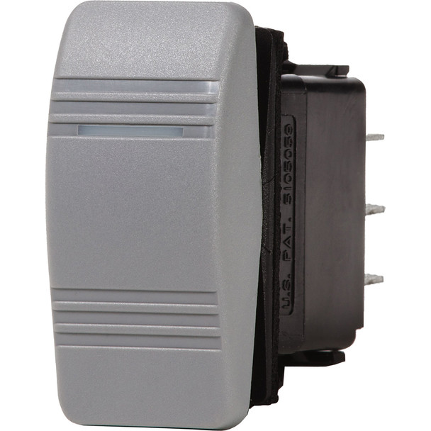 Blue Sea 8218 Water Resistant Contura III Switch - Gray
