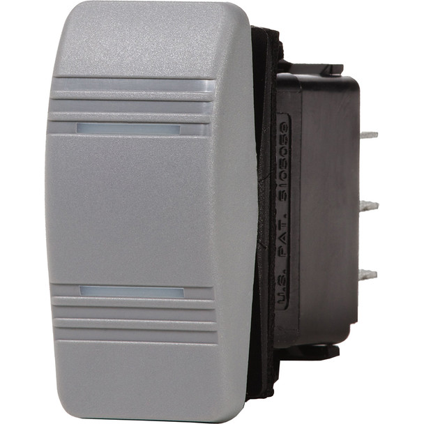 Blue Sea 8220 Water Resistant Contura III Switch - Gray