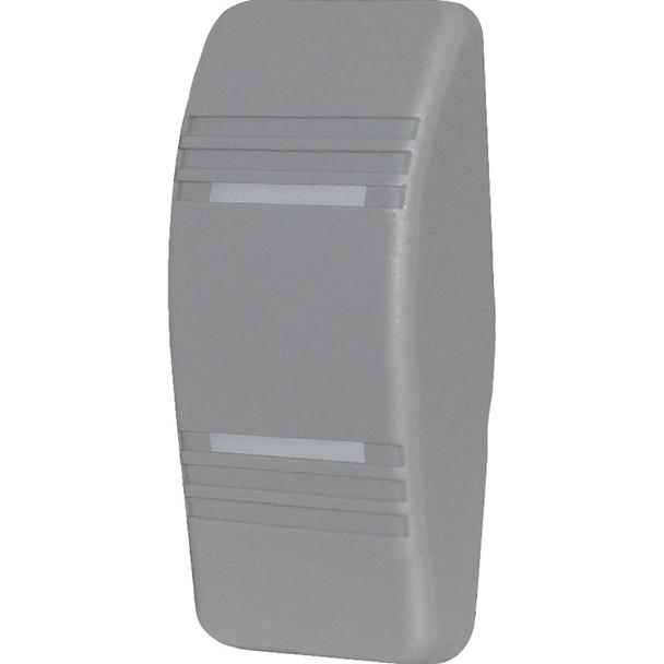 Blue Sea 8298 Contura Switch Grey Actuator - Double Lens
