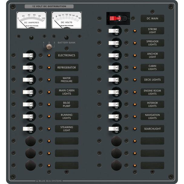 Blue Sea 8380 DC Main + 22 Position