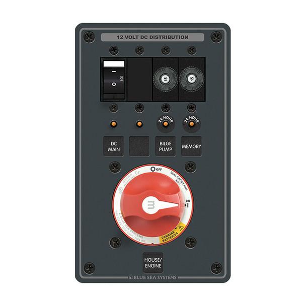 Blue Sea 8686 Dual-Battery m-Series, Dual Circuit Plus