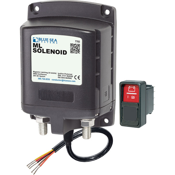 Blue Sea 7703 ML-Series Remote Battery Switch 24v DC