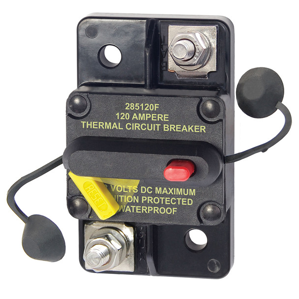 Blue Sea 7188 120 Amp Circuit Breaker Surface Mount 285 Series