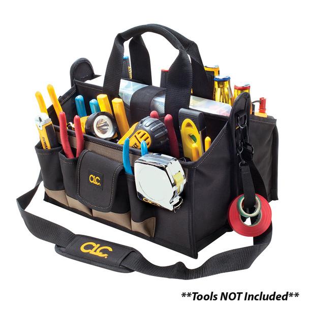 """CLC 1529 16"""" Center Tray Tool Bag"""