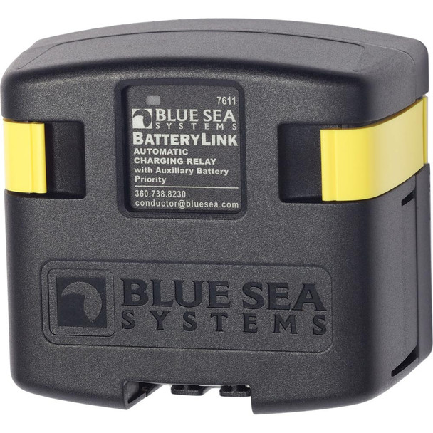 Blue Sea 7611 DC BatteryLink Automatic Charging Relay - 120 Amp w/Auxiliary Battery Charging
