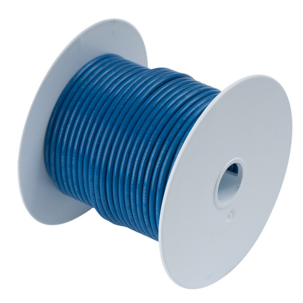 Ancor Dark Blue 14AWG Tinned Copper Wire - 100'