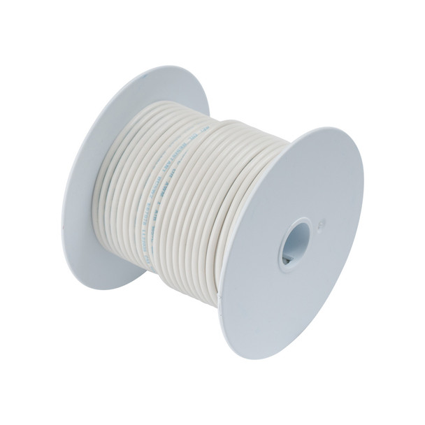 Ancor White 12 AWG Tinner Copper Wire - 100'