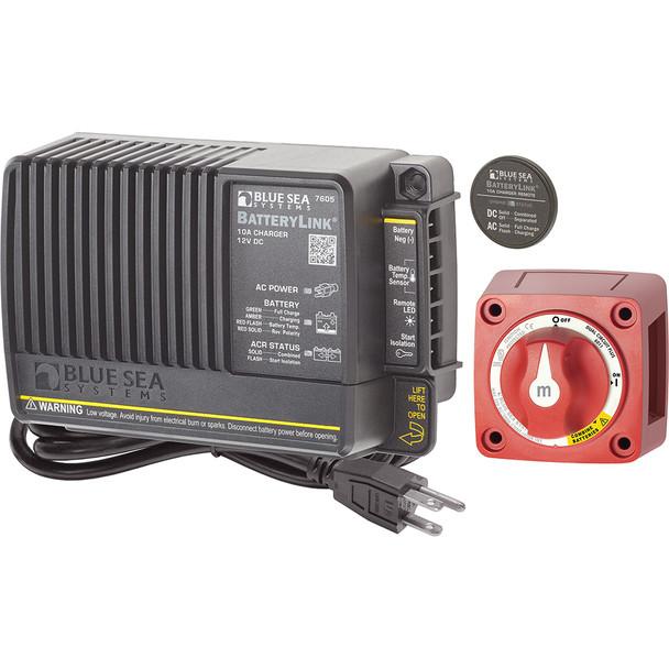 Blue Sea 7655 Mini Add-A-Battery Plus Kit - 10A